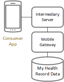Model 4: Consumer connection via platform